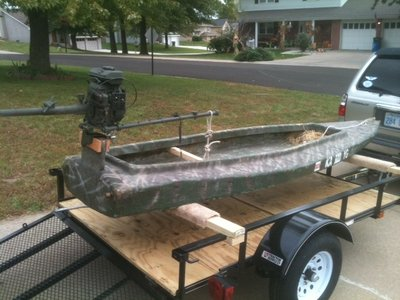 Mini kit on my layout boat for Best mud motor prop