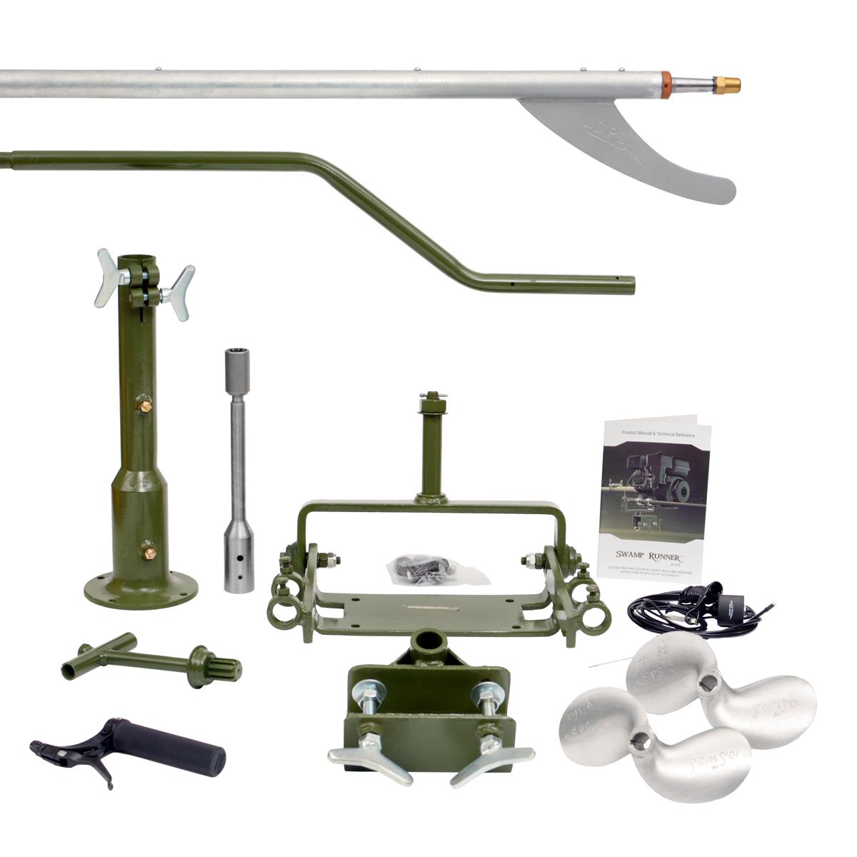 Medium Swamp Runner Longtail Kit