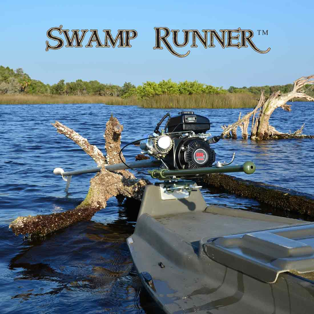 Mini Swamp Runner™ Kit (2.5-3hp)-150