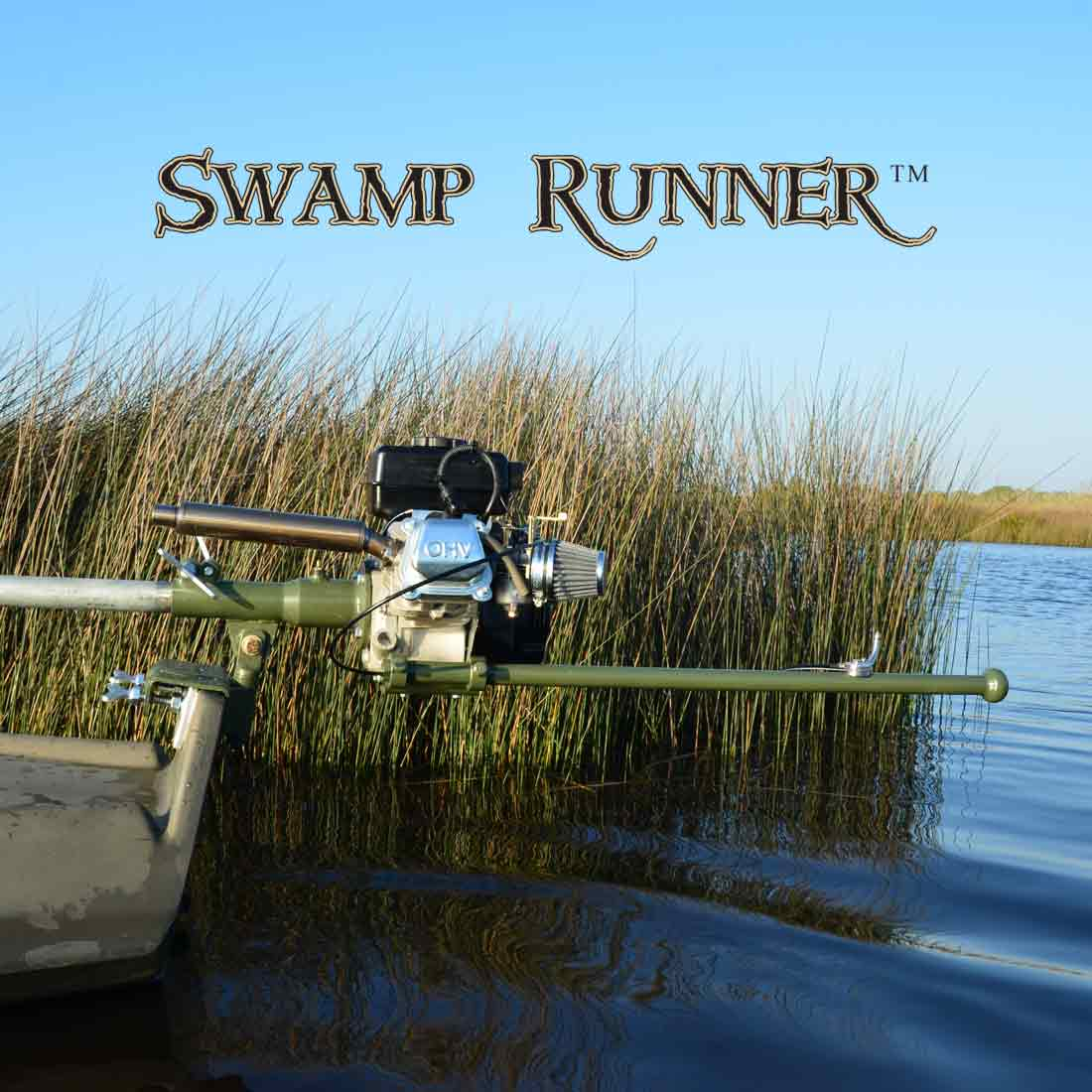 Mini Swamp Runner™ Kit (2.5-3hp)-151