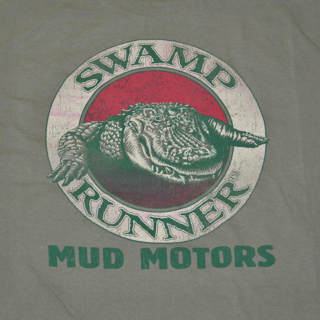 Design on back of Swamp Runner T-Shirt