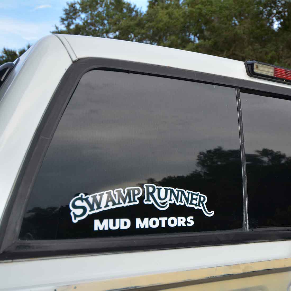 Swamp Runner Decal for Truck Windows & Bumpers