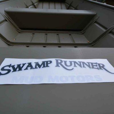 Swamp Runner Mud Motors Transfer Decal