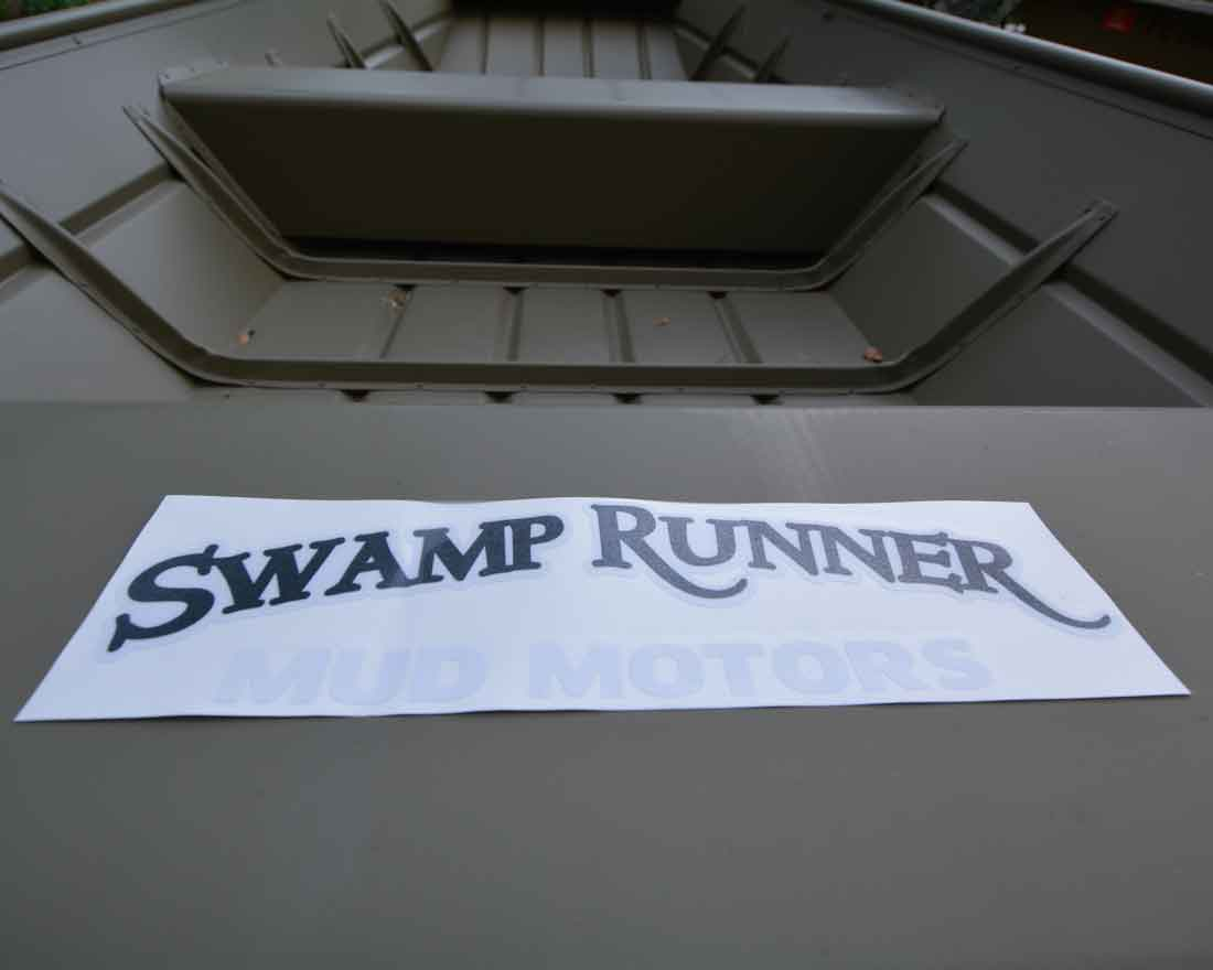 Swamp Runner Mud Motors Transfer Decal