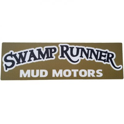 swamp runner mud motors decal